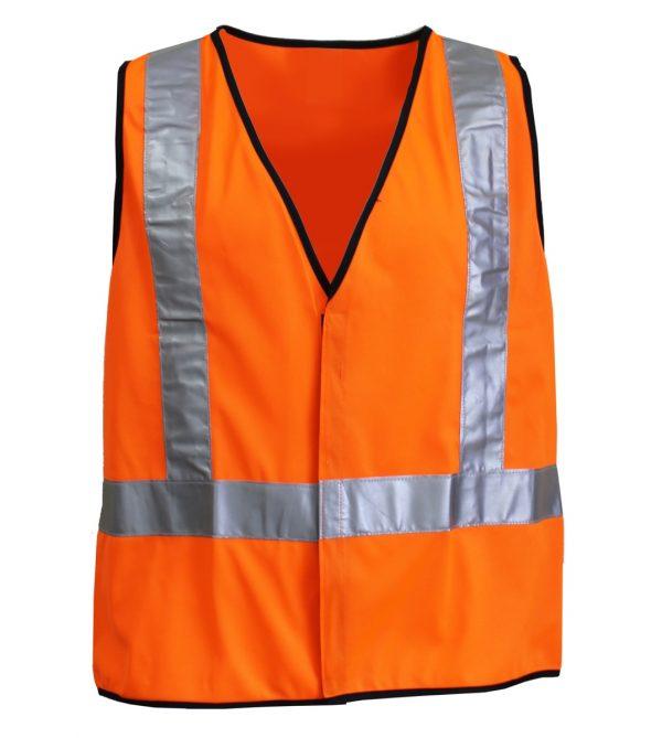 Reflective Safety Vest - Orange