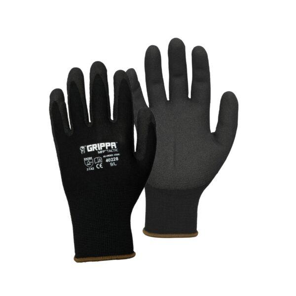 Grippa MFP Tactic Ninja Safety Gloves - Black