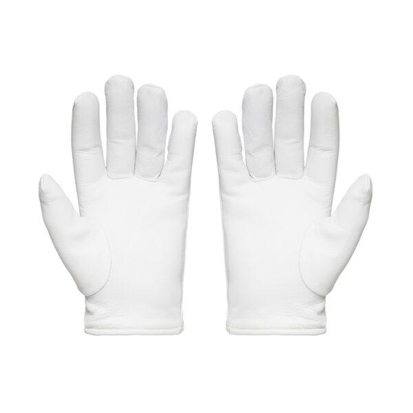 White Grippa Sabre 5 Cut Resistant Rigger Gloves front