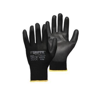Grippa Black Lightweight Fitters Gloves