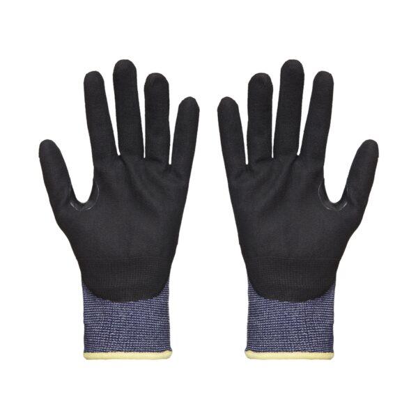 Grippa Black Lightweight Cut Resistant Gloves front