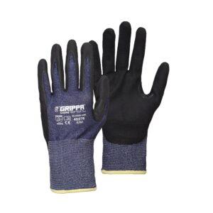 Grippa Navy Blue Lightweight Cut Resistant Glove