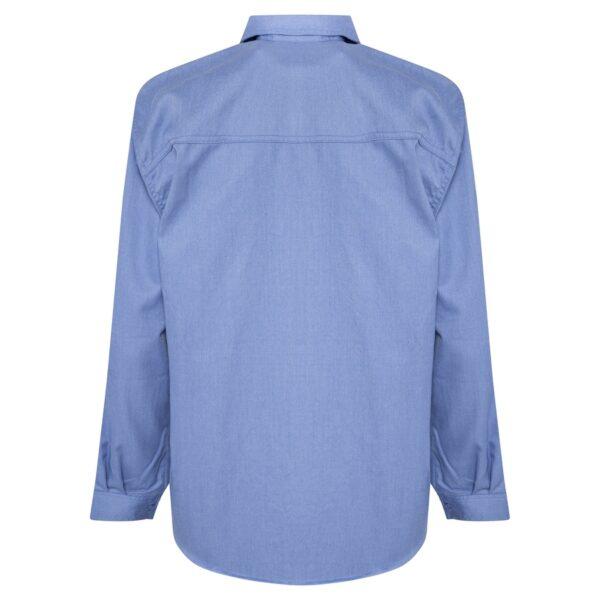 Blue Chambray Inherent HRC2 Fire Retardant Shirt