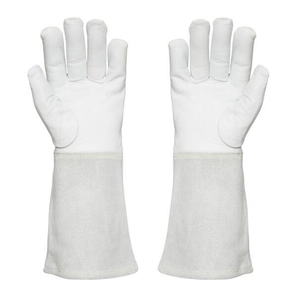 White Tiggy 5 Cut Resistant Welders Gloves